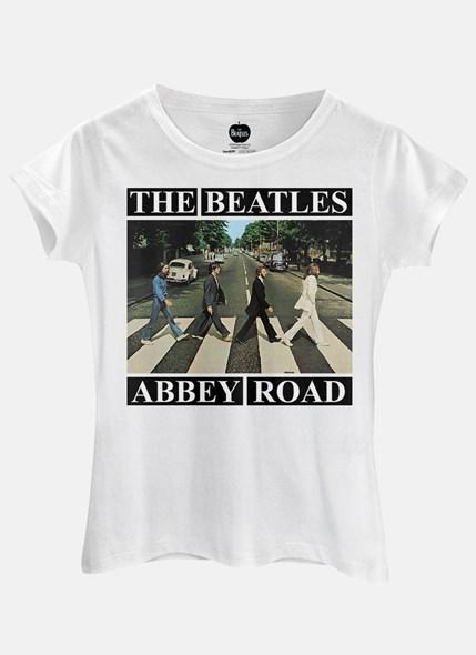 Camiseta The Beatles Abbey Road Capa