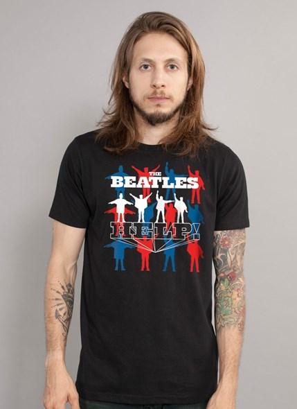 Camiseta The Beatles Help!