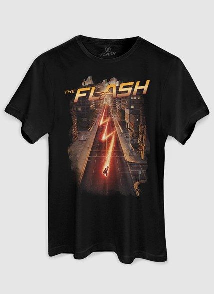 Camiseta The Flash Serie Speed