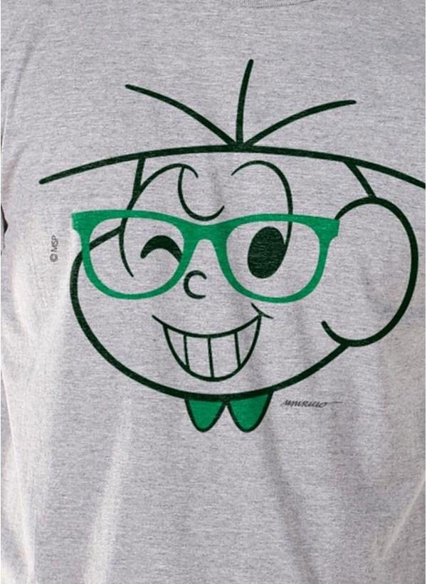 Camiseta Turma da Mônica Cebolinha Nerd