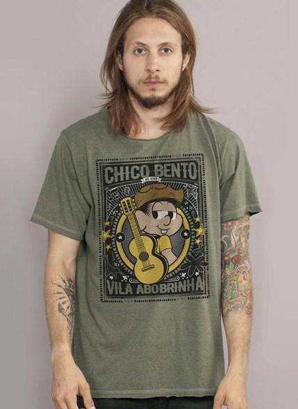 Camiseta Turma da Mônica Chico Bento Vila Abobrinha