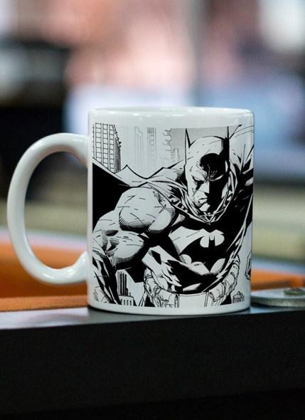 Caneca Batman Tracing Batman e Robin