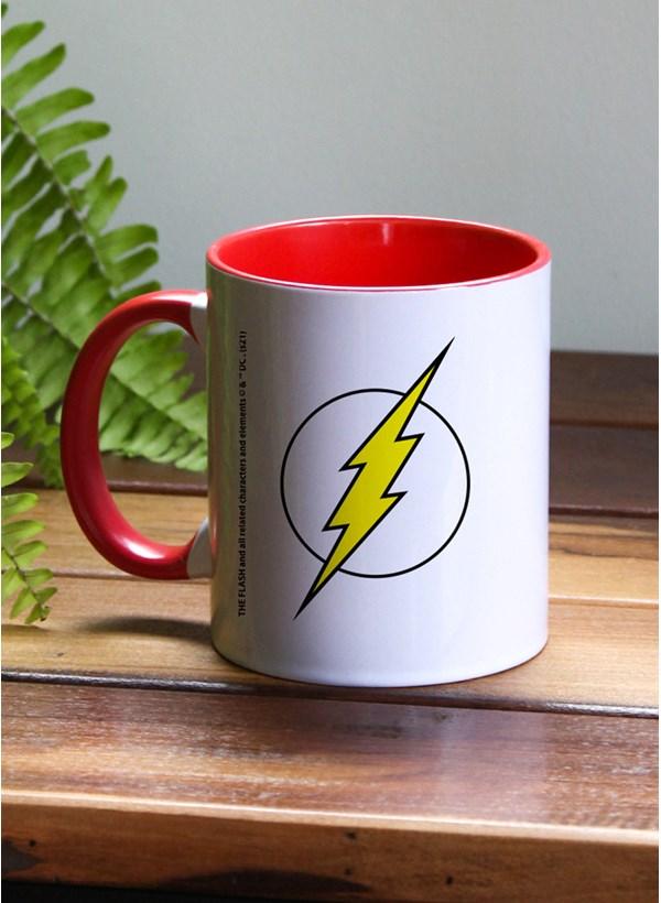 Caneca Logo DC Flash