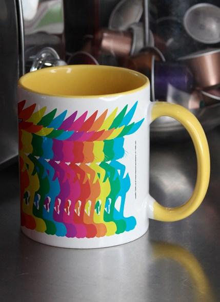 Caneca Pernalonga Colors Pride