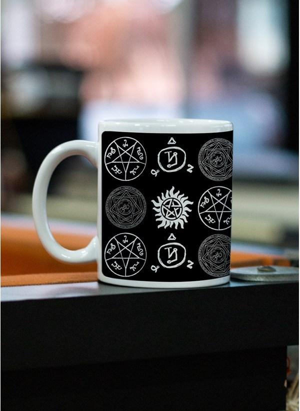 Caneca Supernatural Pentagrama