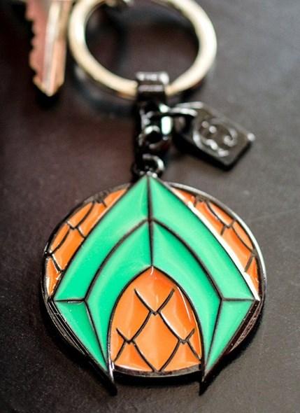 Chaveiro de Metal Aquaman