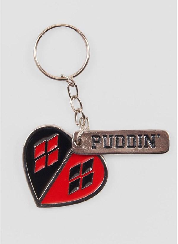 Chaveiro de Metal Harley Quinn Puddin