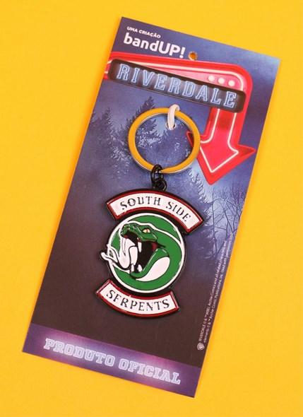Chaveiro de Metal Riverdale South Side Serpents