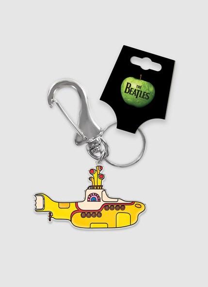 Chaveiro de Metal The Beatles Yellow Submarine