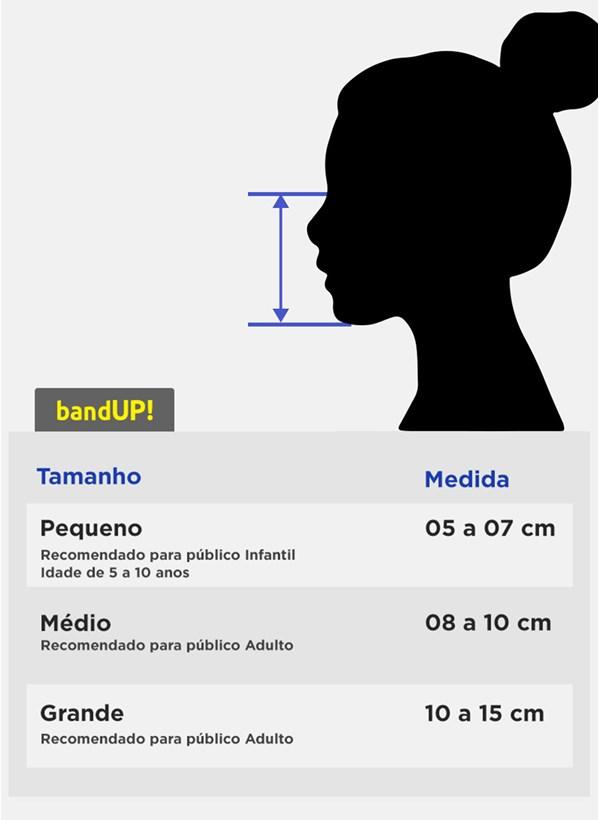 Kit com 4 Máscaras Turma da Mônica Patterns