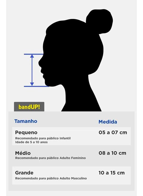 Máscara Turma da Mônica P&B