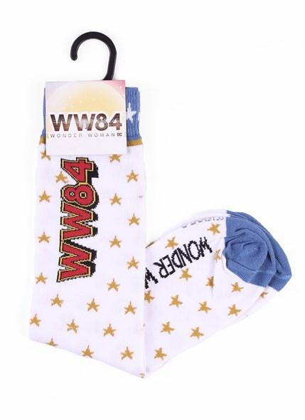 Meia Cano Alto Mulher Maravilha 1984 WW84 Estrelas