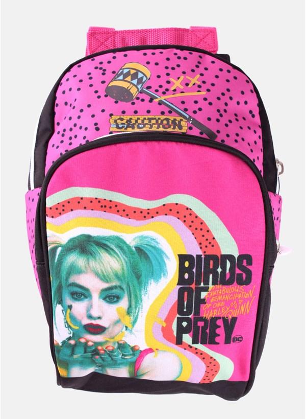 Mini Mochila Harley Quinn Birds Of Prey - Aves de Rapina