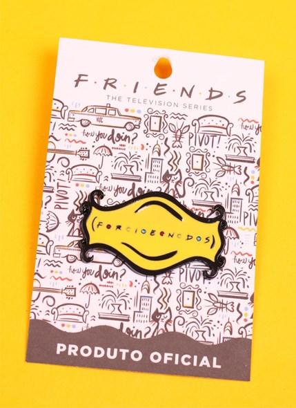 Pin de Metal Friends Logo