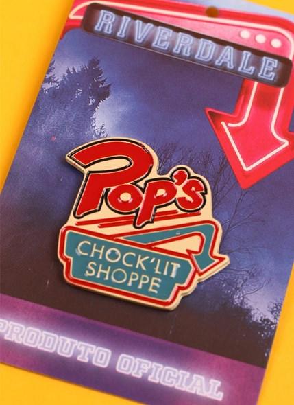 Pin de Metal Riverdale Pop's Chock'lit Shoppe