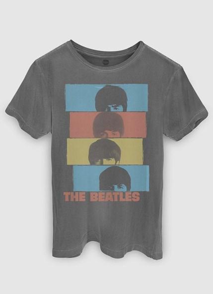 T-shirt Premium The Beatles Headshot